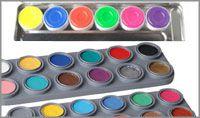 Bodypainting Farbe Paletten