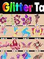Glitter Tattoo Poster