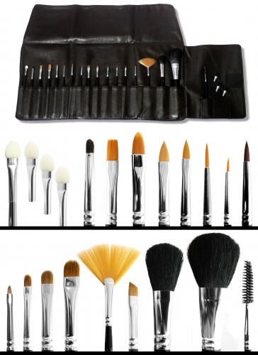 profi pro pinseltasche make up schminke profi theaterschminke schminken. Black Bedroom Furniture Sets. Home Design Ideas