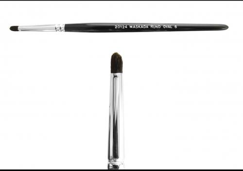 Make up Pinsel - Lidschattenpinsel - rund