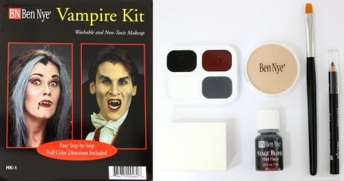 Vampir Schminke Set Kit Halloween Schminke