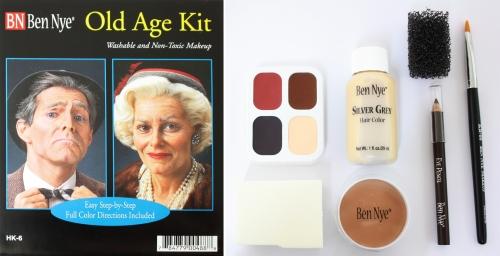 Old Age Kit - Halloween Schminke