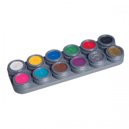 Water make-up Kinderschminke 12 Farben Palette