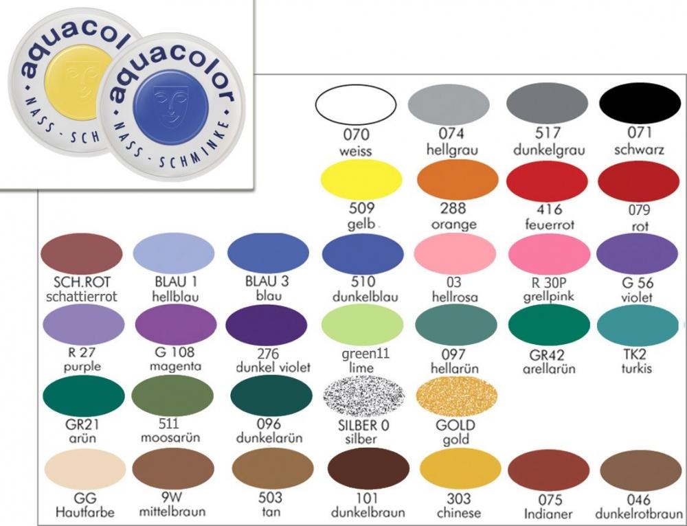 Schminke KRYOLAN Aqua Color 30ml
