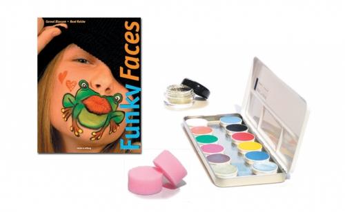 Schminkset Gesichtsbemalung Kinderschminken