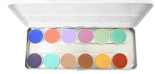 Aqua Paints Schminke Mischpalette Bodypainting Farbe