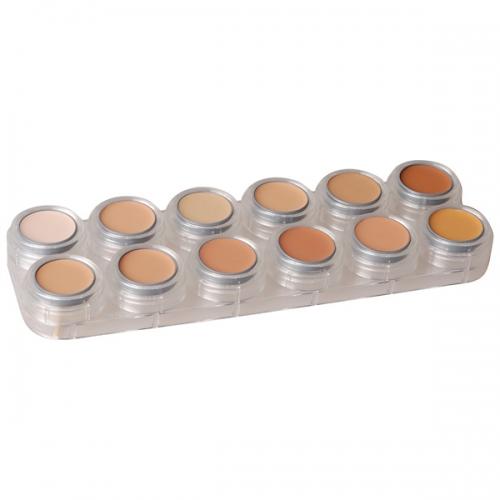 Creme Make up 12 Farben Schminkpalette V