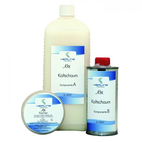 2-Komponenten Weichschaum ( Kaltschaum - Foam Latex ) - 1300 ml