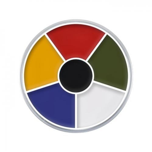 Creme Color Wheel Grundfarben Schminke Halloween Profi