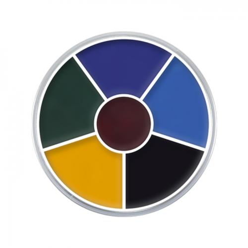 Creme Color Wheel blaues Auge 2 Halloween Schminke