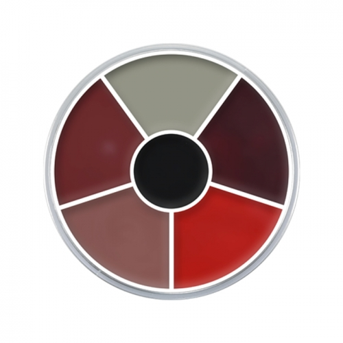 Creme Color Wheel Brandwunde Verletzungen Schminke Halloween Profi