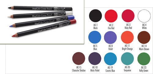 Magi Color Creme Liner Pencils