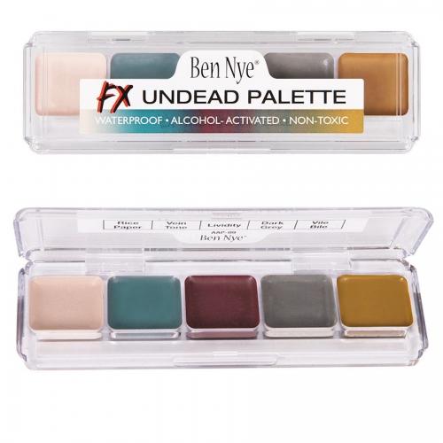 Ben Nye FX Undead Untote Palette Alkohol Farben