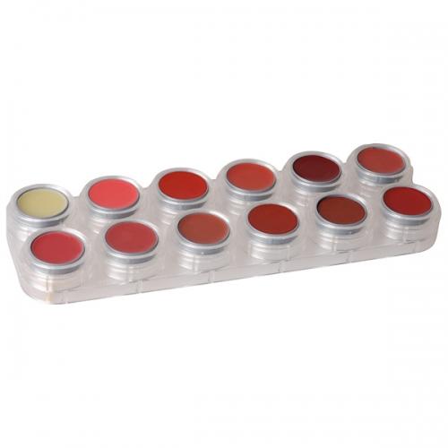 Lipstick - 12 Farben Palette - LB