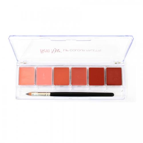 Lippenstift Palette Ben Nye - Natural Lip 6 Farben