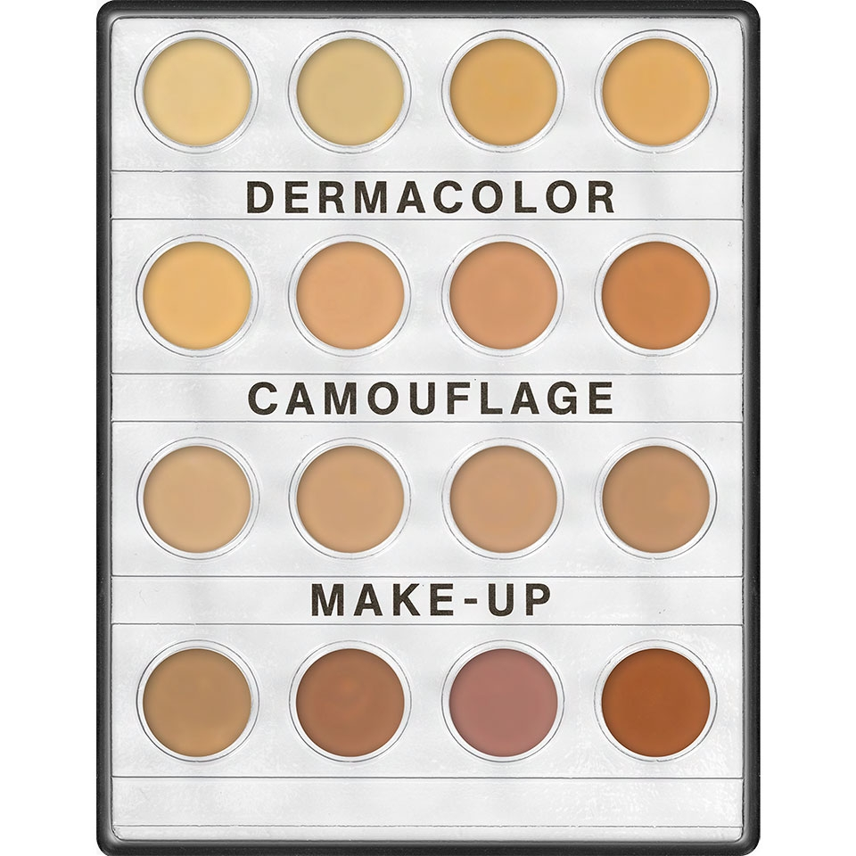 Dermacolor Camouflage Creme Mini Palette Kryolan 16 Farben H16