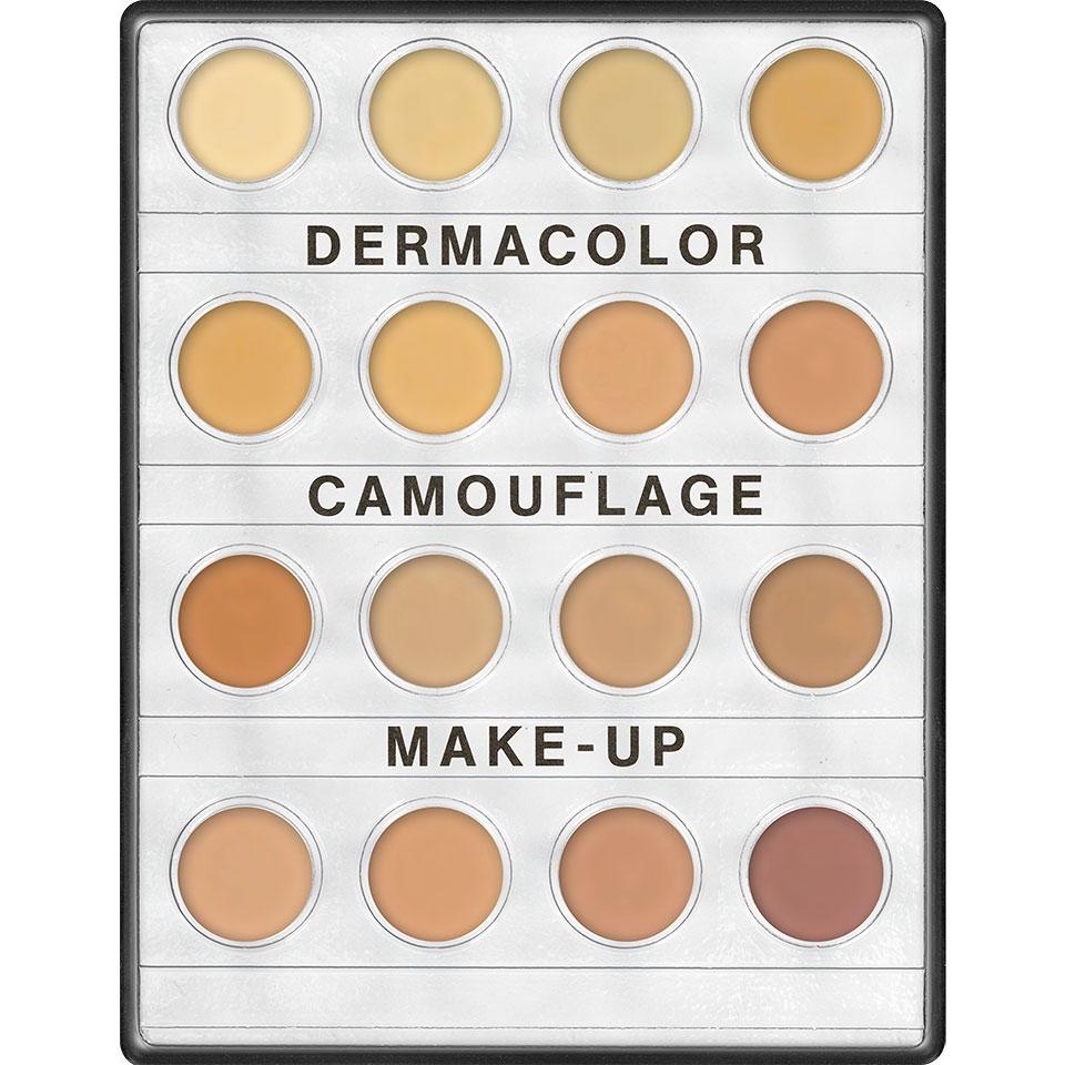 Dermacolor Camouflage Creme Mini Palette Kryolan 16 Farben 4