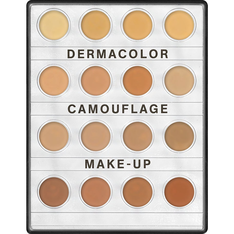 Dermacolor Camouflage Creme Mini Palette Kryolan 16 Farben 3