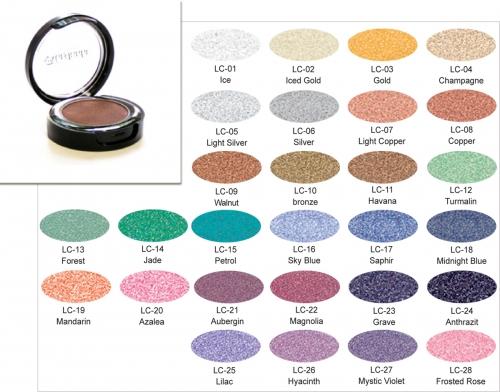 Lumiere Color - glänzende Lidschatten - Dose 2,5 gr