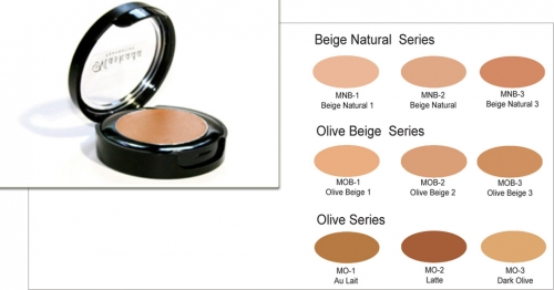 Matte Foundation - Dose 4 gr