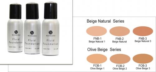 Fluid Foundation - 50 ml Flasche Profi Make up