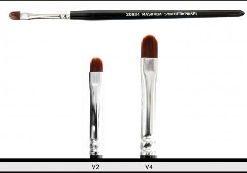 Make up Pinsel - Synthetikpinsel - V Form- ultrasoft