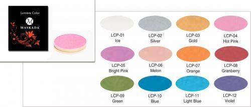Lumiere Color Pro - glänzende Lidschatten - Refill 3,5 gr