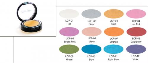 Lumiere Color Pro - glänzende Lidschatten - Dose 3,5 gr