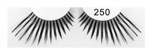 Falsche Wimpern - Echthaar 250