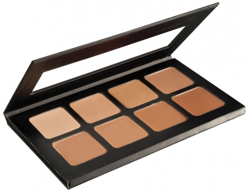 Ben Nye Starluxe Creme Foundation Palette HD 4K Make-up