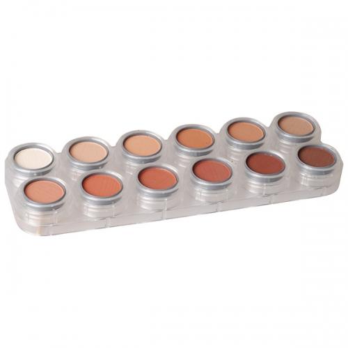 Eyeshadow - Rouge - 12 Farben Palette RH