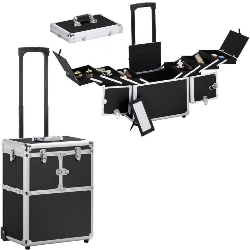 schminkkoffer visagistenkoffer profi koffer make up visagisten maskenbildner make up. Black Bedroom Furniture Sets. Home Design Ideas