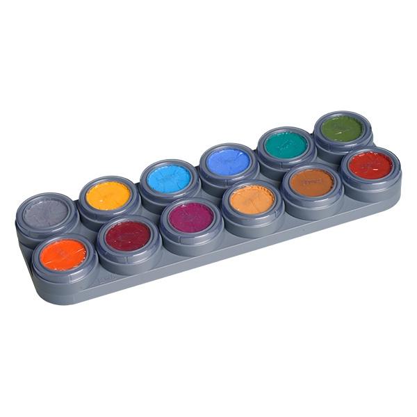 schminke f r kinder 12 farben b palette make up schminke profi theaterschminke schminken. Black Bedroom Furniture Sets. Home Design Ideas