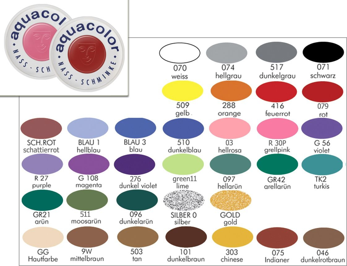 KRYOLAN Aqua Color Schminke 55ml