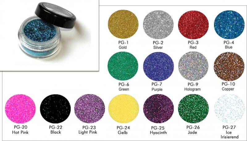 Polyesterglitter - lose 5 ml - Glitzer