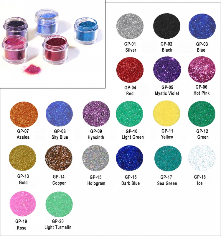 Tattoo Glitter Dose - 5 ml