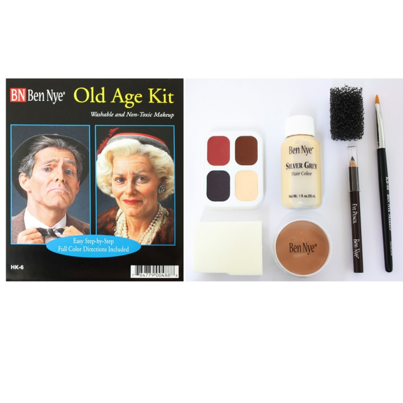 Old Age Kit - makeup - theatrical make-up - professional