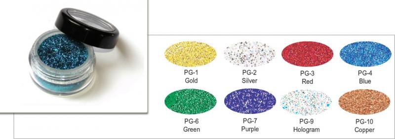 Polyesterglitter - 5 ml