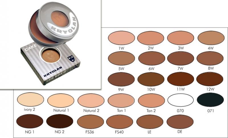 KRYOLAN Cake Make up - 35 gr