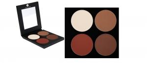 Matte Lidschatten Palette - 4 Farben - P2-Palette