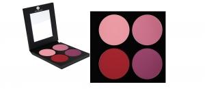 Matte Lidschatten Palette - 4 Farben - P4-Palette