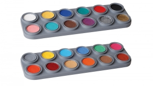 GRIMAS Water Make up 24 Farben Palette Bodypainting Farbe