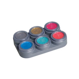 Children Paints Pearl Water Make-up - 6 Color Palette