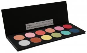 Lidschattenpalette - 12 Farben - R-Palette