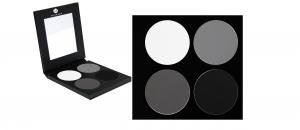 Schminkpalette Lidschatten 4 Farben - P1-Palette