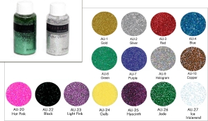 Aqua Glitter 25 ml Pinselflasche