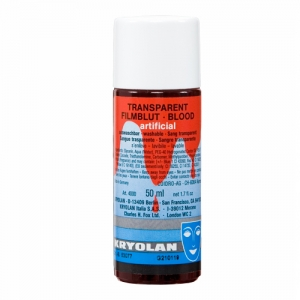 Transparent Filmblut medium 50 ml Kunstblut