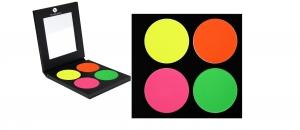 Matte Lidschatten Neon UV Palette 4 Farben P8