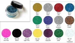 Polyester Glitter - loose 5 ml