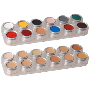 Creme Make up - 24 Farben Palette K